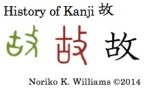 History of Kanji 故