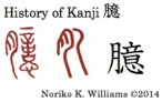 History of Kanji 臆