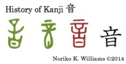 History of Kanji 音