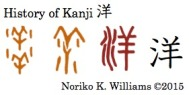 History of Kanji 洋