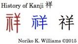 History of Kanji 祥