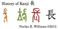 History of Kanji 長