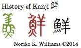 History of Kanji 鮮
