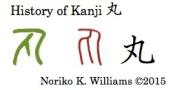 History of Kanji 丸