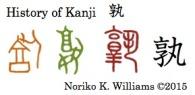 History of Kanji 孰