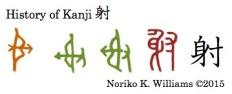 History of Kanji 射