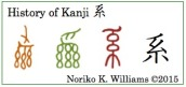 History of Kanji 系(frame)
