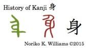 History of Kanji 身