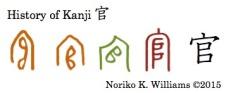 History of Kanji 官
