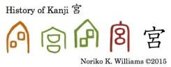 History of Kanji 宮