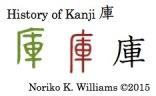 History of Kanji 庫