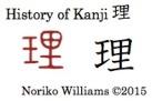 History of Kanji 理
