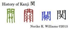 History of Kanji 関