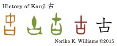 History of Kanji 古