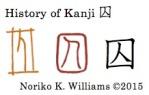 History of Kanji 囚