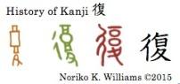 History of Kanji 復