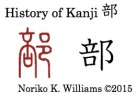 History of Kanji 部