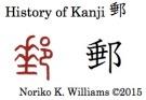 History of Kanji 郵