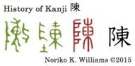 History of Kanji 陳