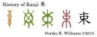 History of Kanji 束