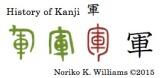 History of Kanji 軍