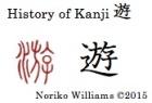 History of Kanji 遊
