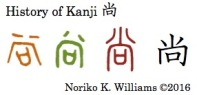History of Kanji 尚