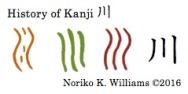 History of Kanji 川