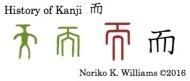 History of Kanji 而