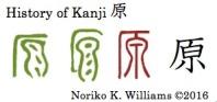 History of Kanji 原