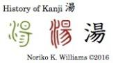 History of Kanji 湯