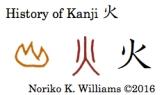 History of Kanji 火