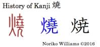History of Kanji 焼