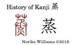 History of Kanji 蒸