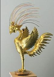 平等院の鳳凰像1
