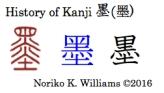 History of Kanji 墨