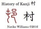 History of Kanji 村