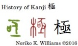 History of Kanji 極
