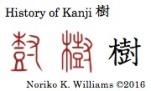 History of Kanji 樹