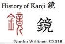 History of Kanji 鏡