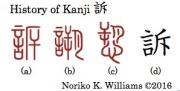 history-of-kanji-%e8%a8%b4
