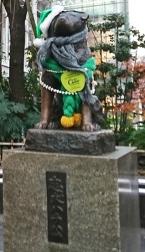 2 Hachiko Statue