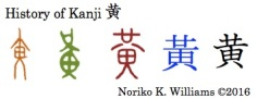 history-of-kanji-%e9%bb%84%e8%89%b2