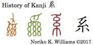 History of Kanji 系