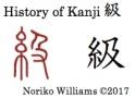 History of Kanji 級