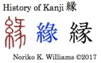 History of Kanji 縁