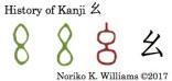 History of Kanji 幺