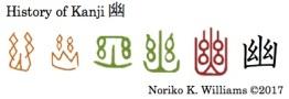 History of Kanji 幽