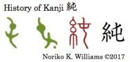 History of Kanji 純