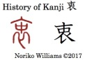 History of Kanji 衷